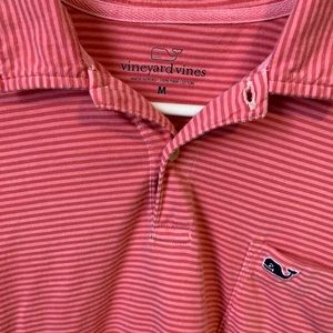 Men's Vineyard Vines Polo; Size Medium